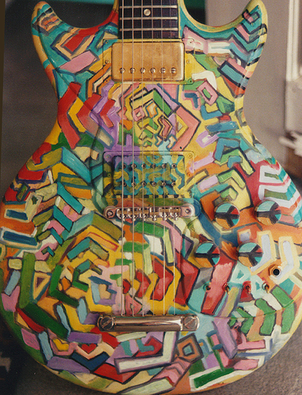gibson melody maker guitar by Luke McAuliffe