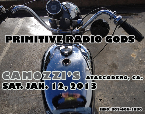 prg live at camozzi's 1-12-2013